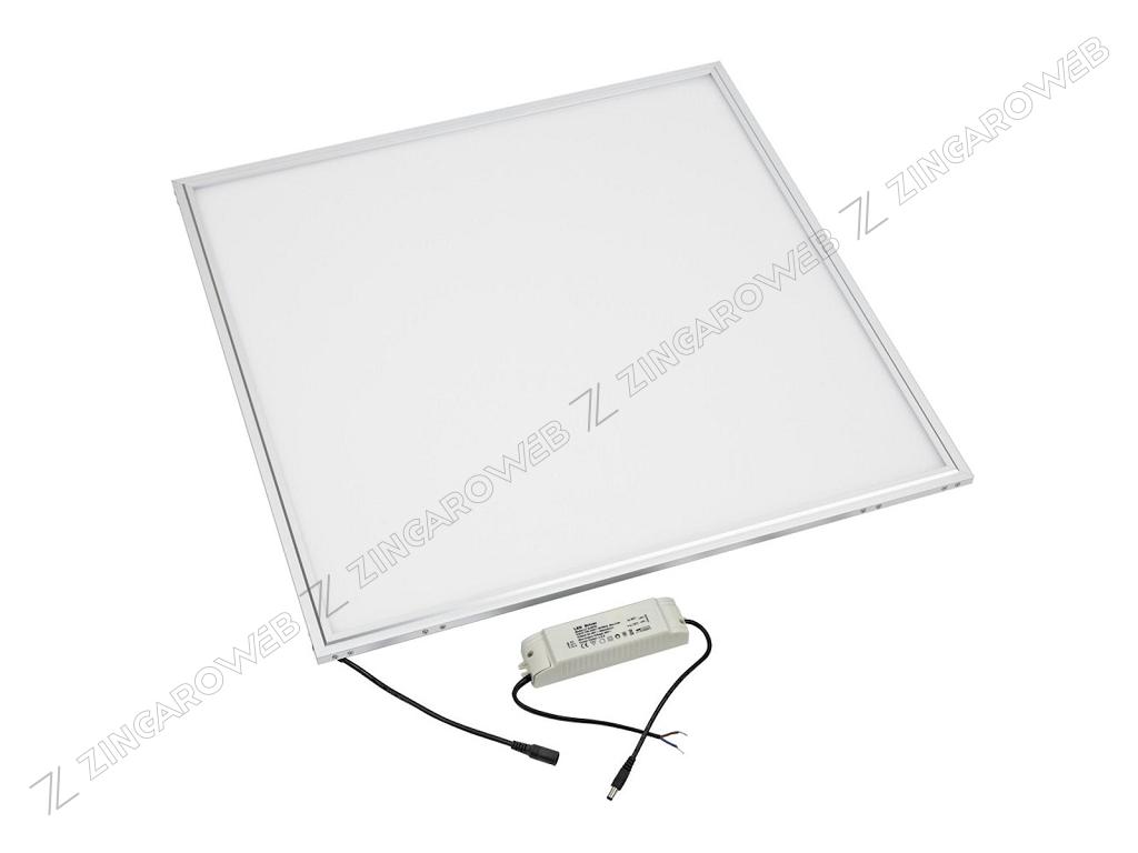 PANNELLO LED 40w 3200Lm IP20 120°CORNICE BIANCO mm.595x595x11h 4000K prodotto da LAMPO