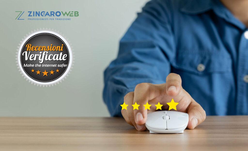 Recensioni 5 stelle per la nostra ferramenta su recensioni-verificate.com