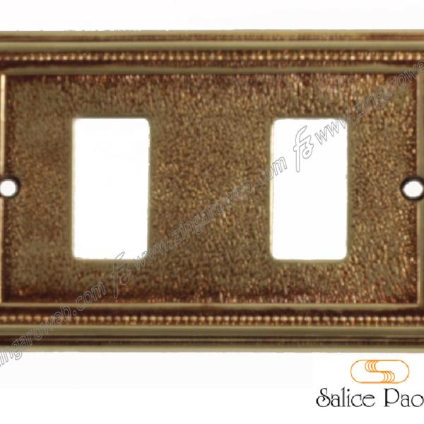 COPRINTERRUTTORE MILANO PER MAGIC BTICINO POV (Patinato Oro Vecchio) prodotto da SALICE PAOLO